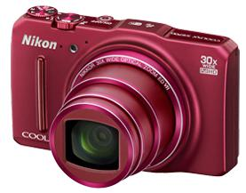 "Фотокамера Nikon CoolPix S9700 red 16Mpix Zoom30x 3"" 1080p 329Mb SDXC SDHC IS 0fr/s HDMI Li-Ion"