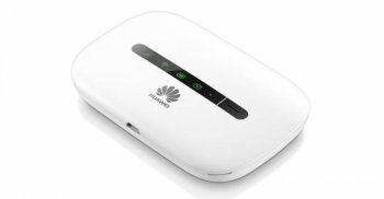Маршрутизатор Huawei e5330 USB Да +Router внешний белый