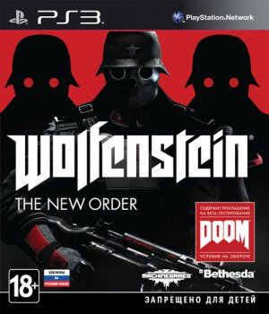 Игра для Sony PlayStation Soft Disk Wolfenstein: The New Order русские субтитры