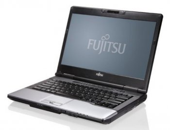 "Ноутбук Fujitsu LIFEBOOK S752 Core i3-3110M/4Gb/500Gb/DVDRW/HD4000/14""/HD/Glare/1366x768/Win 7 Professional 64/black/BT4.0/PR/WiFi/CR/6c/WiFi/Cam"