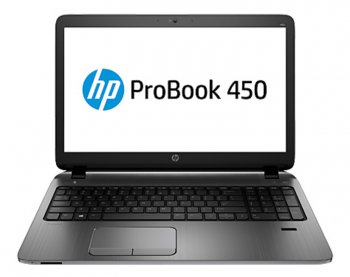 "Ноутбук hp 450 Core i5-4210U/4Gb/500Gb/DVDRW/R5 M255 2Gb/15.6""/HD/Mat/Win 8.1 EM 64/BT4.0/8c/WiFi/Cam"