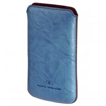 Чехол Tom Tailor Crumpled Colors H-115820 lt.blue для iPhone 4/4S/HTS Rhyme/Mozart
