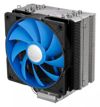 Вентилятор DeepCool ICE WARRIOR Soc-775/1155/1366/AM2/AM3/FM1 Hydro PWM 150W