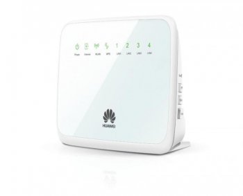 Маршрутизатор Huawei <WS325> Media Router (802.11b/g/n, 4UTP 10/100Mbps,1WAN, 300Mbps)