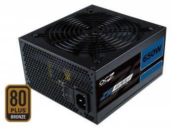 Блок питания OCZ ATX 650W ZS650W 80+ bronze 135mm fan, APFC, 8*SATA