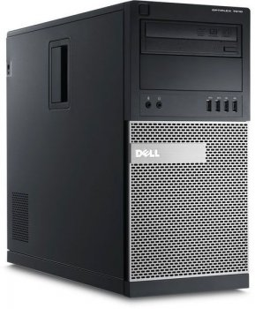 Системный блок Dell Optiplex 7010 MT i5 3470 (3.2)/4Gb/500Gb/HDG 2500/DVDRW/Win 8 Prof 64 downgrade to Win 7 Prof 64/клавиатура/мышь/3Yr Basic NBD