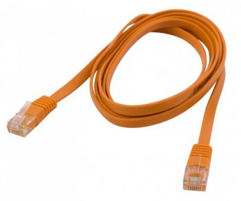 Кабель UTP PC PET Patchcord molded 5E FLAT 1.5 m