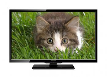"Телевизор-LCD 22"" Rolsen RL-22E1302FT2C ultra slim black FULL HD USB MediaPlayer DVB-T2 (RUS)"
