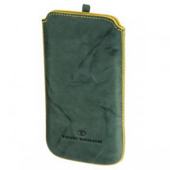 Чехол Tom Tailor Crumpled Colors H-115814 green/yellow для iPhone 4/4S/HTS Rhyme/Mozart