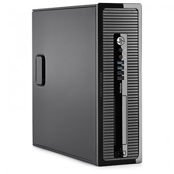 Системный блок HP ProDesk 400 SFF i5 4570/4Gb/500Gb/DVDRW/Win 8.1 Prof 64 downgrade to Win 7 Prof 64/клавиатура/мышь