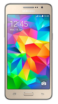"Смартфон Samsung Galaxy Grand Prime SM-G530H золотистый моноблок 3G 2Sim 5"" 540x960 Android 4.4 8Mpix WiFi BT GPS GSM900/1800 GSM1900 TouchSc MP3 8Gb"