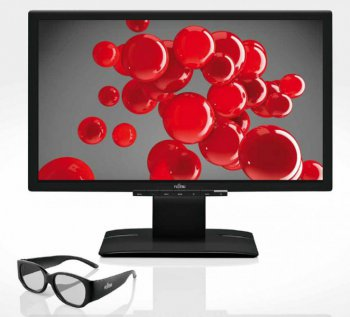 "Монитор Fujitsu 23"" P23T-6 FPR Black IPS LED 5ms 16:9 DVI M/M 3D HAS Pivot 2M:1 250cd 178гр 178гр 1920x1080 DisplayPort 5,7кг"
