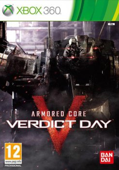 Игра для Xbox Microsoft Armored Core:Verdict Day английская версия