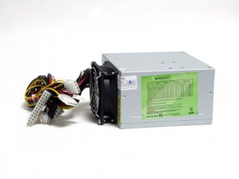 Блок питания Gembird ATX 450W PSU5X CE PFC 2.2 low noise dual fan SATA power cord