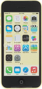 "Смартфон Apple iPhone 5c 8GB (MG8Y2RU/A) желтый моноблок 3G LTE 4.0"" iOS 7 WiFi BT GPS"