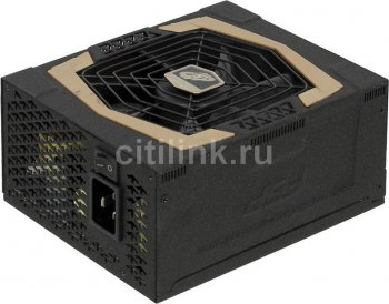 Блок питания FSP ATX 1200W AU-1200M Aurum 80+ GOLD APFC, 120mm fan, RTL