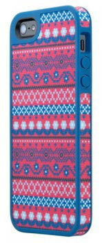 Чехол Speck для iPhone 5/5S FabShell DigiTribe pink/blue (SPK-A0725)