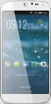 "Смартфон Acer Liquid Jade S55 белый моноблок 3G 2Sim 5"" 720x1280 Android 4.4 13Mpix WiFi BT GPS GSM900/1800 GSM1900 TouchSc MP3 8Gb microSD"