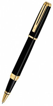 Ручка роллер Waterman Exception Slim Black GT Fblack (S0636990 TF)
