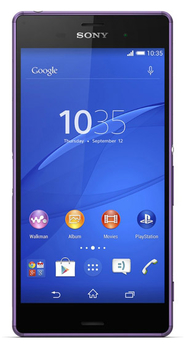 "Смартфон Sony Xperia Z3 D6603 пурпурный моноблок 3G 4G 5.2"" 1080x1920 Android 4.4 20.7Mpix WiFi BT GSM900/1800 GSM1900 TouchSc Ptotect MP3 16Gb FM A-G"
