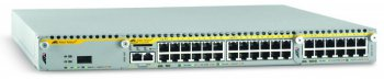 Коммутатор Allied Telesis (AT-x900-24XT-P-60) 24-Port Gigabit Copper Expandable L3+NetCover Basic