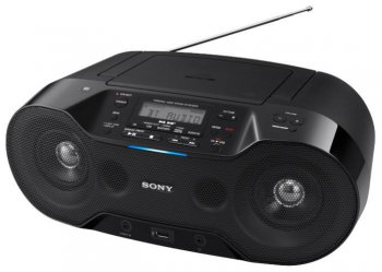 Аудиомагнитола Sony ZS-RS70BT 4.6Вт, Bluetooth, NFC, USB, CD, FM/AM