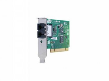 Сетевая карта Net Card Allied Telesis PCI AT-2701FTXa/SC-001 100FX 32 bit 100Mbps Dual Fiber and Copper Fast Ethernet Fiber Adapter Card; SC connector