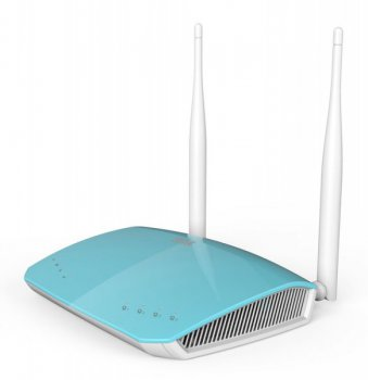 Маршрутизатор ZTE (053700900474) 4-порта 10/100Mbit/s E5501 Wireless-N 300Mbps 4FE ports Blue