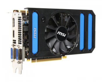 Видеокарта MSI PCI-E nVidia N660-2GD5 GeForce GTX 660 2048Мб 192bit GDDR5 1033/6008 DVI*2/HDMI/DP/HDCP RTL