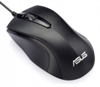 Мышь Asus 90XB0060-BMU000 black optical (1000dpi)