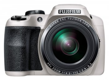 "Фотокамера FujiFilm FinePix S8300 white 16Mpix Zoom42x 3"" 1080p SDHC BSI-CMOS IS opt VF HDMI AA"