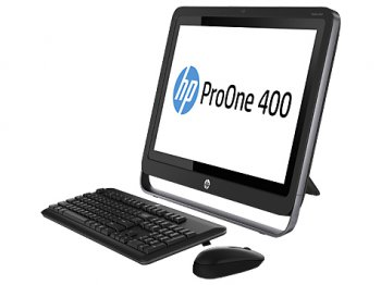 "Моноблок HP ProOne 400 AIO 19.5"" HD i5 4570T/8Gb 7.2k/SSD 180Gb/DVDRW/W8.1dng/WiFi/BT/клавиатура/мышь"