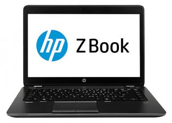 "Ноутбук hp ZBook 14 Core i5-4300U/4Gb/750Gb/DVDRW/HD4400/14""/HD+/Win 8 Pro downgrade to Win 7 Pro 64/BT4.0/3c/WiFi/Cam"