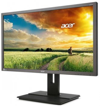 "Монитор Acer 32"" B326HKymjdpphz темно-серый IPS LED 6ms 16:9 DVI HDMI M/M матовая HAS 350cd DisplayPort USB"