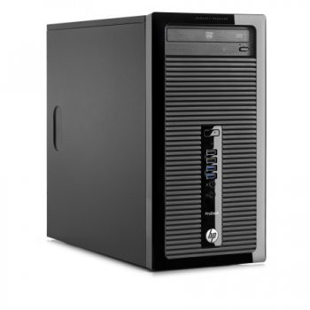 Системный блок HP Pro 400 MT i3 4130 (3.4)/4Gb/500Gb 7.2k/DVDRW/Windows 8.1 Prof downgrade to Windows 7 Prof 64/клавиатура/мышь (RUS)