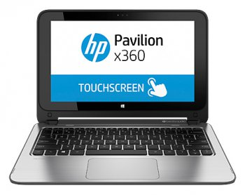 "Ноутбук hp Pavilion x360 11-n051sr Celeron N2830/4Gb/500Gb/11.6""/1366x768/3G/Windows 8.1 32-bit/silver/WiFI/Cam"
