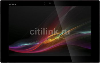 "Планшетный компьютер Sony SGP321RU/B.RU3 S4/RAM2Gb/ROM16Gb/10.1"" TFT 1920*1200/WiFi/BT/GPS/And4.1.3/black"