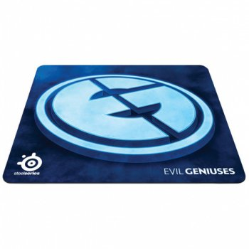Коврик для мыши SteelSeries QcK+ Evil Genuises Limited Editiion тряпичный 450x400x4mm (63057)