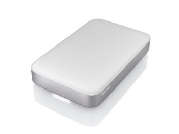 "Внешний жесткий диск Buffalo Thdb 256Gb HD-PA256TU3S-EU MiniStation Thunderbolt 2.5"" белый USB 3.0"