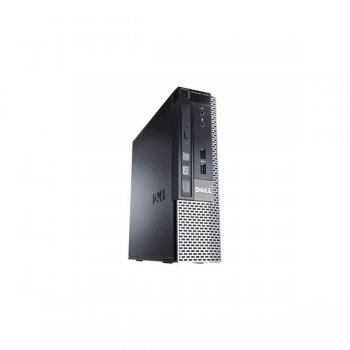 Системный блок Dell Optiplex 9020 USFF i5 4570S (2.9)/4Gb/320Gb 7.2k/HDG 4600/DVDRW/Win 7 Prof 64 upgrade to Windows 8 Prof 64 /клавиатура/мышь/3yr Ba