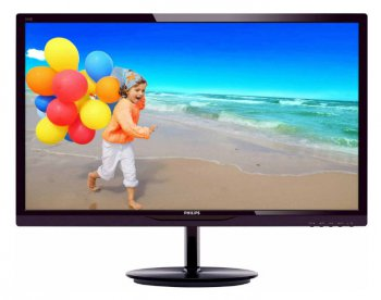 "Монитор Philips 24"" 244E5QHAD (00/01) Black Cherry IPS LED 14ms 16:9 2xHDMI 20M:1 250cd"
