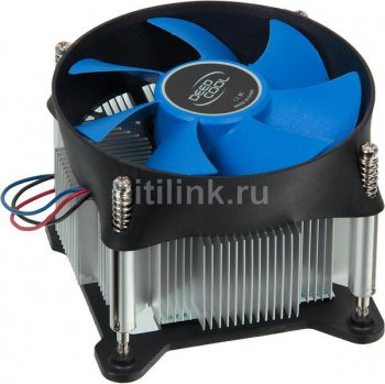 Для процессора Deepcool THETA 25 Soc-1150/1155/1156/ 3pin 30dB Al 95W 400g винты RTL