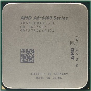Процессор AMD A6-6400K BOX Black Edition (AD640KO) 3.9 GHz/2core/SVGA RADEON HD 8470D/ 1 Мб/65 Вт/5 ГТ/с Socket FM2