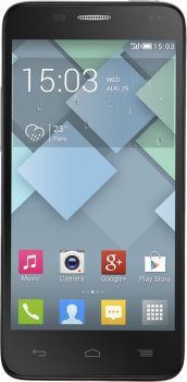"Смартфон Alcatel One Touch ОТ6012X Idol Mini Silver 2 sim/4.3"" IPS/1.3GHz/0.3Mpx/5Mpx/GPS/Android4.2"