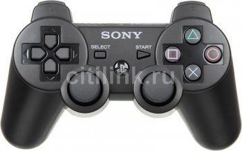 Контроллер Sony PlayStation 3 Dualshock black (PS719255932)