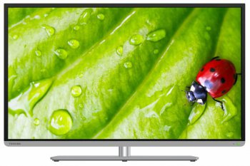 "Телевизор-LCD 40"" Toshiba 40L5455R REGZA Slim Design черный/FULL HD/400Hz/DVB-T2/DVB-C/3D/WiFi/Smart"