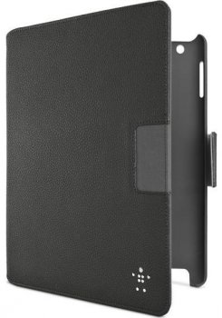 Чехол Belkin для iPad3 CASE,FOLIO,LTHR,IPAD3G,VERVE PLUS,BLK F8N759cwC00