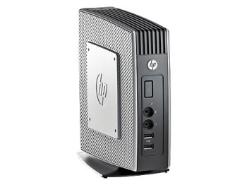 Тонкий клиент ПК HP t510 Eden X2 U4200 (1.0)/4Gb/SSD 16Gb/VIA HD2.0/Win Embedded Standard 7/GETH