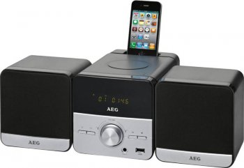 Микросистема Hi-Fi AEG MC 4458 iP черный