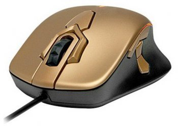 Мышь SteelSeries Gold wow mouse 62240 gold optical gamer USB